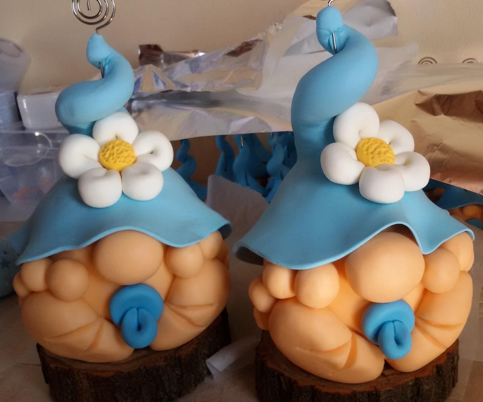 Eccezionale Deco & Gifts.Creazioni in Pasta di Mais: Bomboniera gnomo  TG36