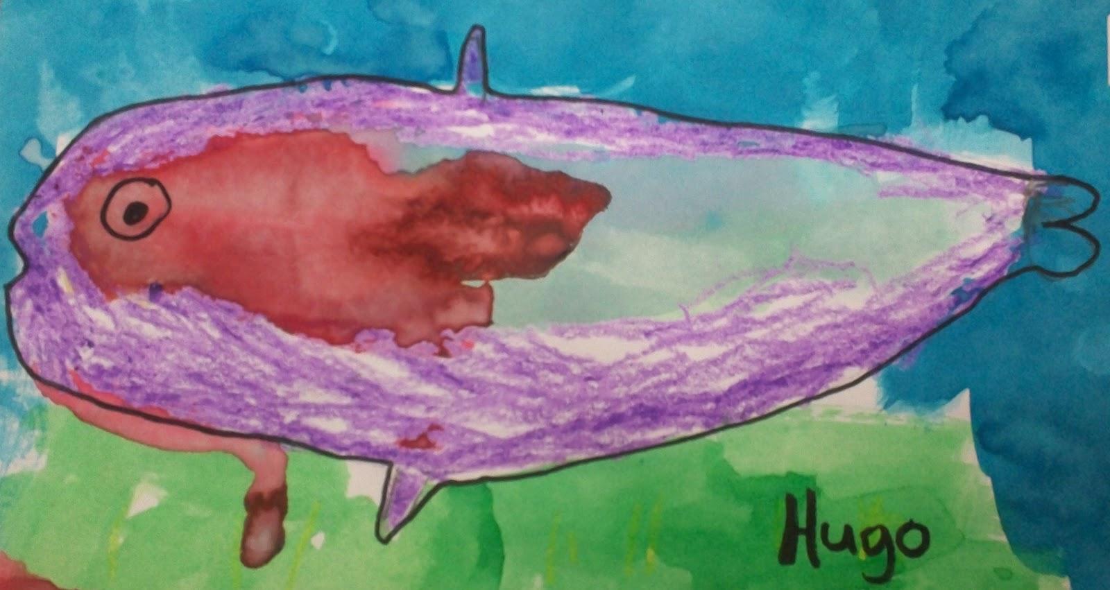 Art With Mr. E: Watercolor Fish : Kindergarten