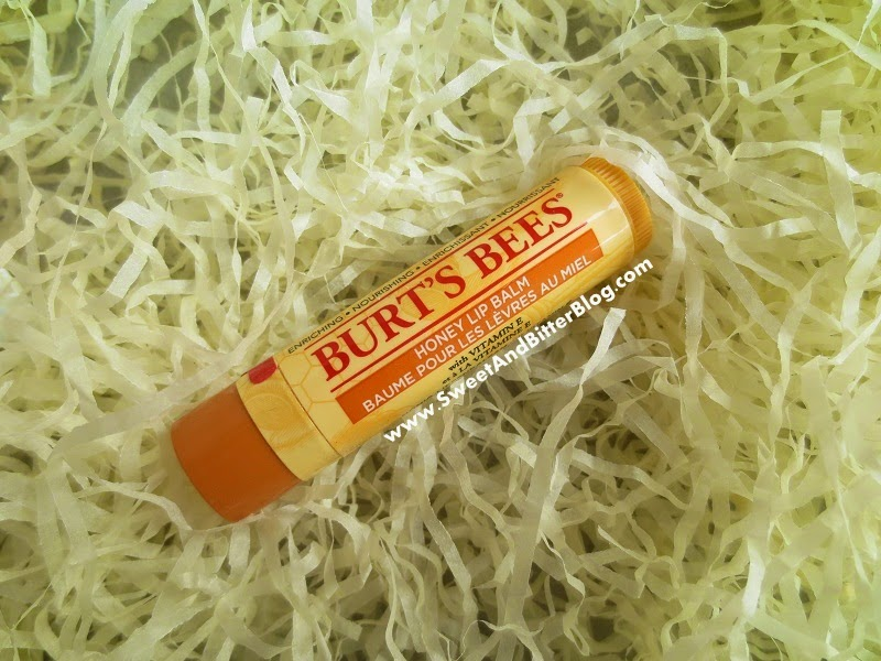 Burts Bee Honey Lip Balm with Vit E Review