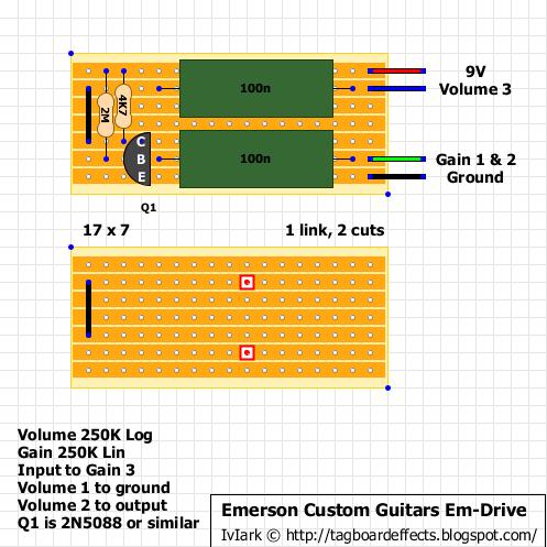 Emerson Custom Guitars Em Drive