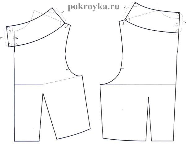 Платья со стойкой выкройка