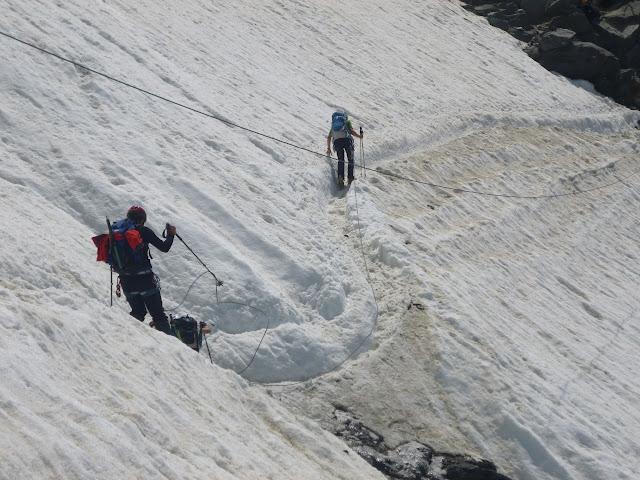 Mont Blanc/Ruta normal de Gouter
