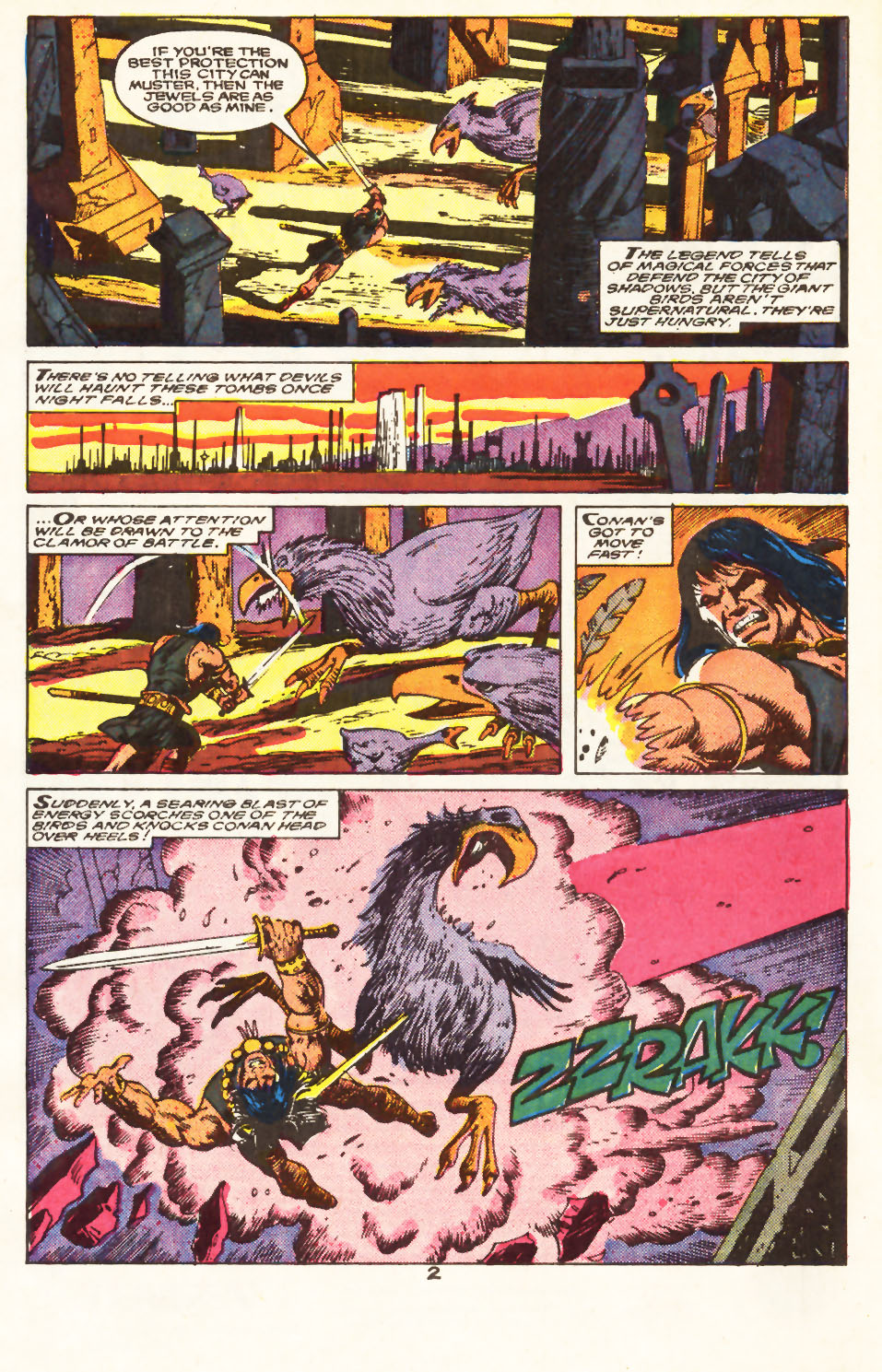 Conan the Barbarian (1970) Issue #217 #229 - English 3