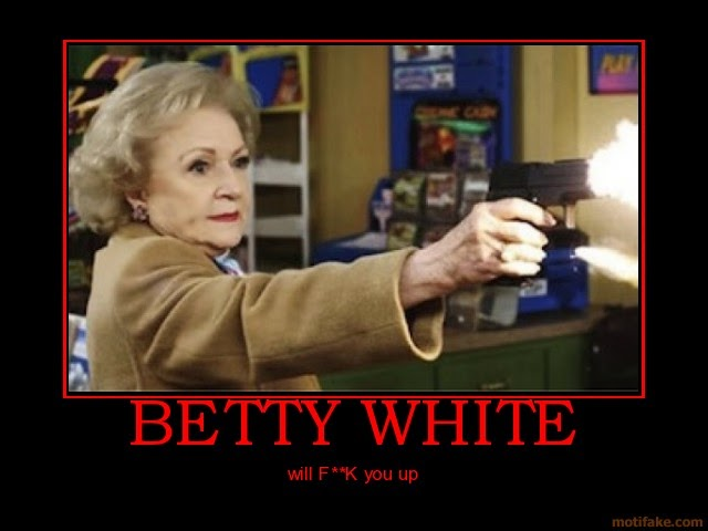 betty white gun