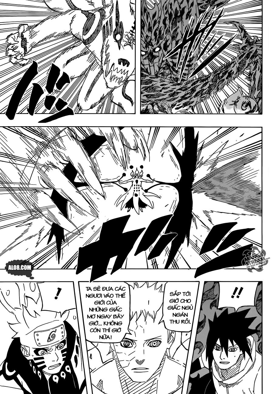 Naruto chap 650 Trang 9