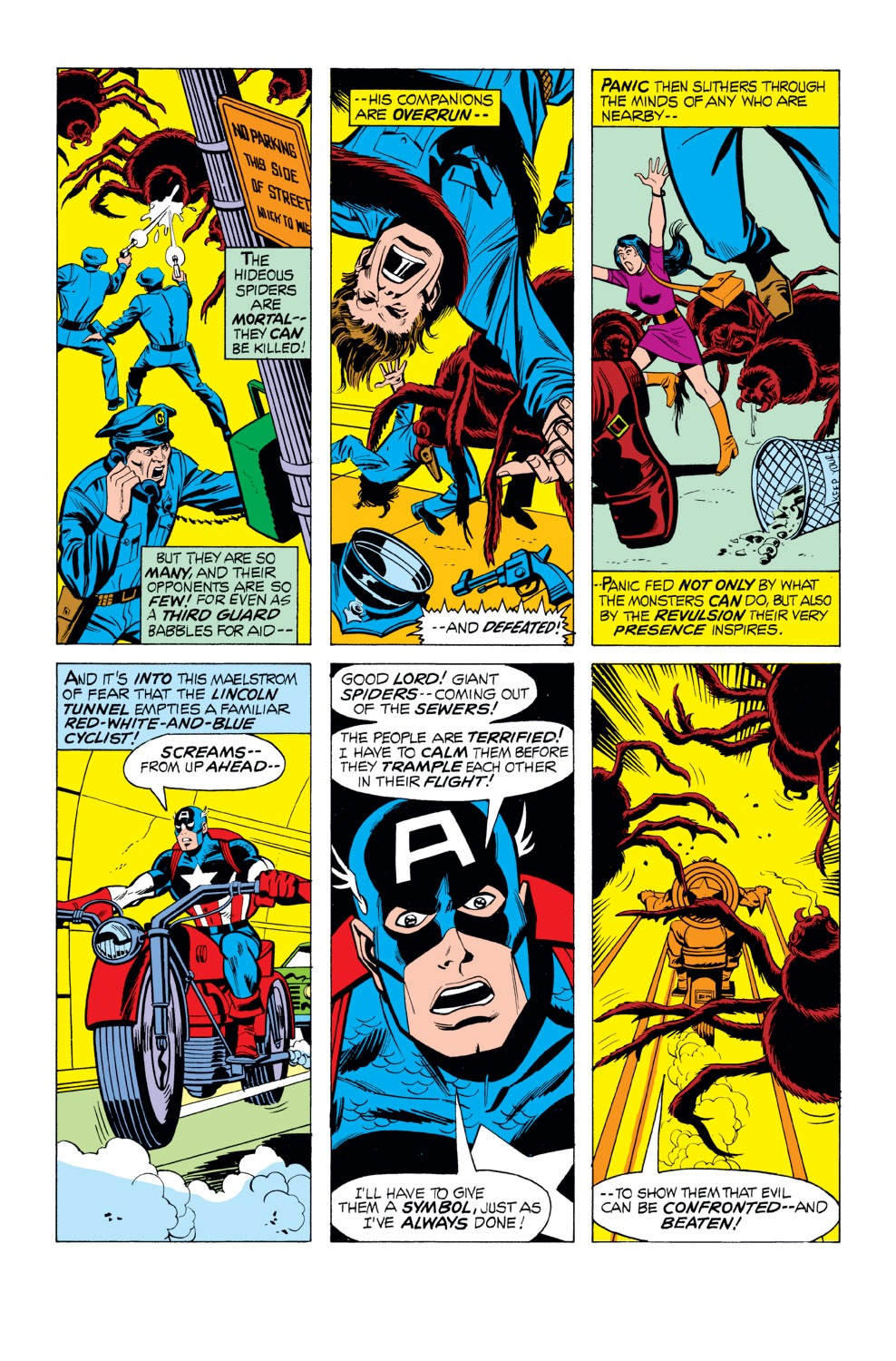 Captain America (1968) Issue #165 #79 - English 12