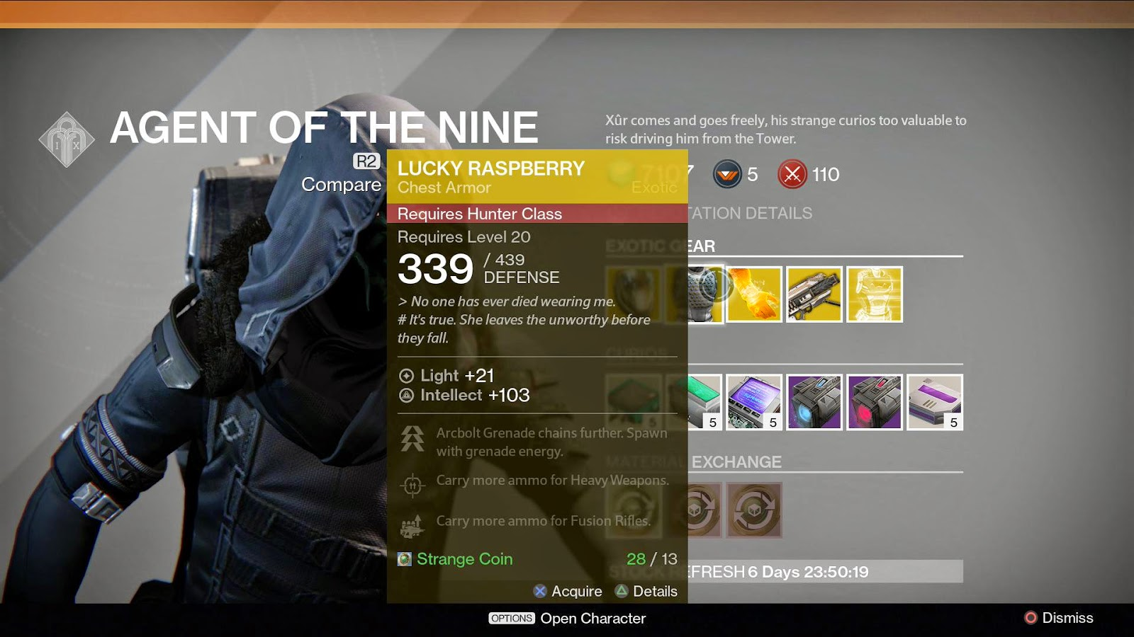 What Is Xur Selling Today 12 26 14