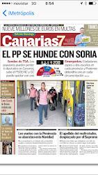 EL PP SE HUNDE CON SORIA
