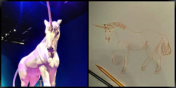 unicorn art, ar, unicorn, drawing for therapy