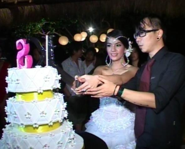 Foto Pernikahan Sheila Marcia