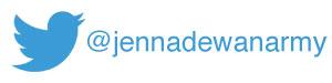 Follow @jennadewanarmy on Twitter