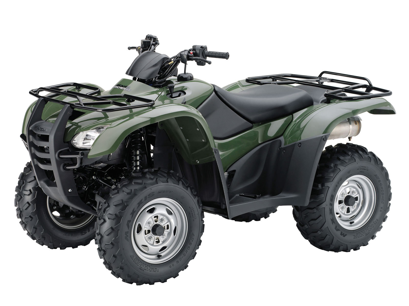 atv wallpapers 2009 honda fourtrax rancher at. Black Bedroom Furniture Sets. Home Design Ideas