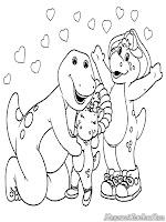 Barney Dan Keluarga Dinosaurus