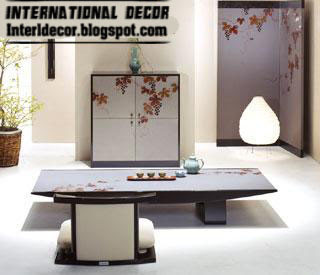Interior Design 2014: Japanese dining rooms furniture, designs, ideas