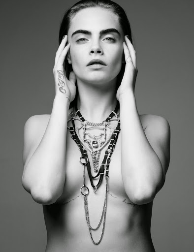 Cara Delevingne sexy model for Love magazine photoshoot
