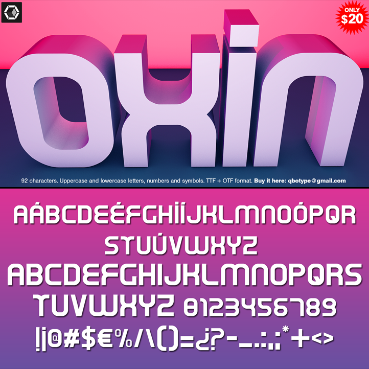 Tipografia Oxin