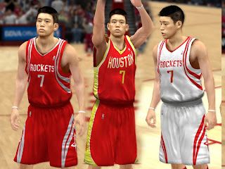 NBA 2K13 Houston Rockets Jerseys Mod