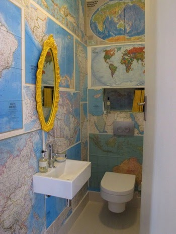 Ashbee Design Wallpapering With Maps