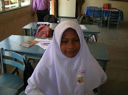 Pelajar UPSR Noorhafiza