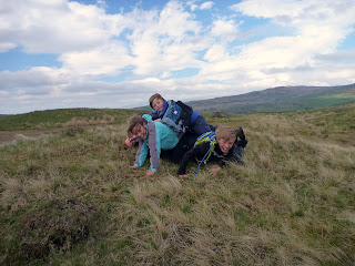 Having fun on a Mountain Navigation Skills Training Course in The Lake District.
