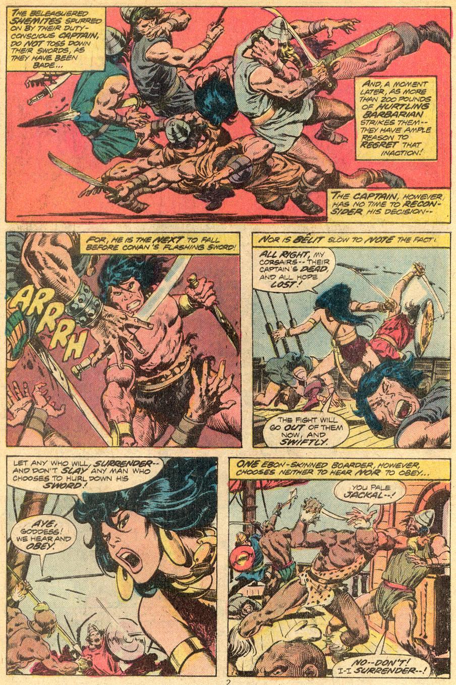 Conan the Barbarian (1970) Issue #72 #84 - English 3