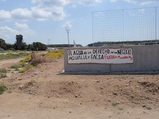 CNT-paredes-mazarrón-facsa-aqualia-despidos-depuradora-agua-negocio