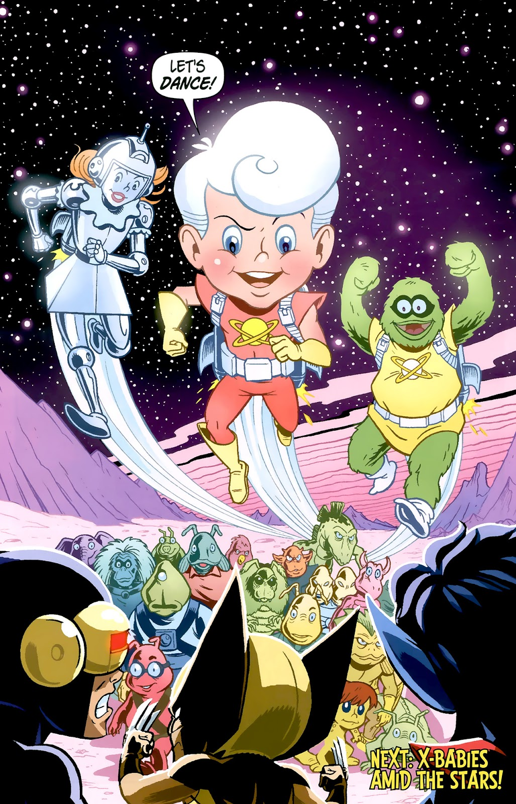 Read online X-Babies comic -  Issue #1 - 24