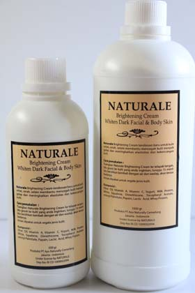 Naturale Bleaching Cream