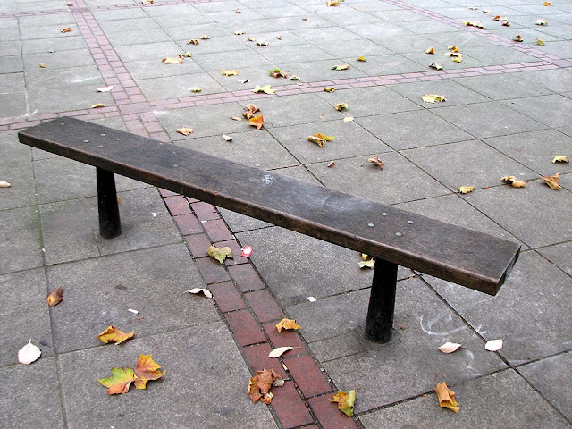 Bench, Great Cumberland Place, Paddington, London