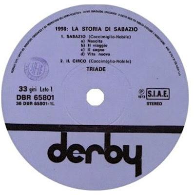 Triade Sabazio label