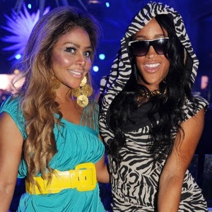 Natalie Nunn partying with Lil Kim
