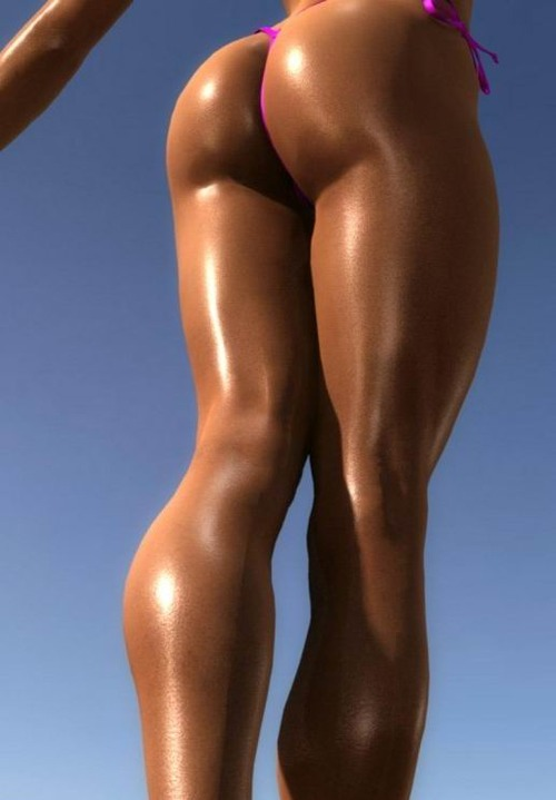 Female Muscle Ass 100