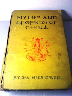 Buku Myths and Legends of China Terbitan Inggris 1924