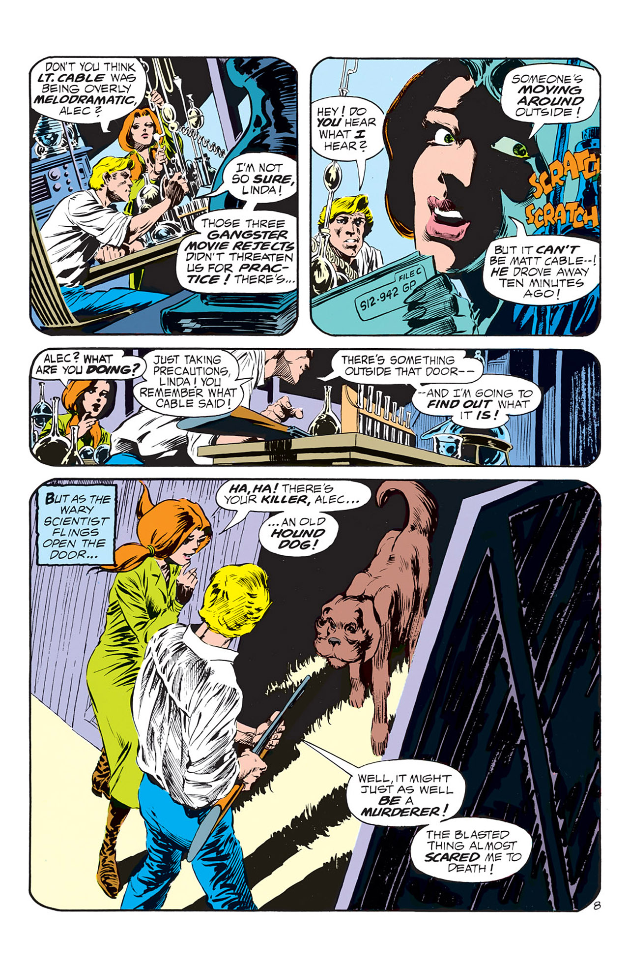Swamp Thing (1972) Issue #1 #1 - English 9