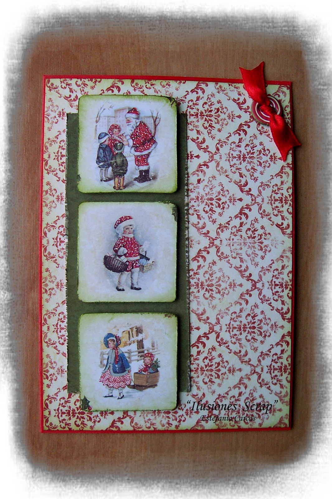 Ilusiones scrap tarjetas navide as colecci n vintage for Coleccion vintage
