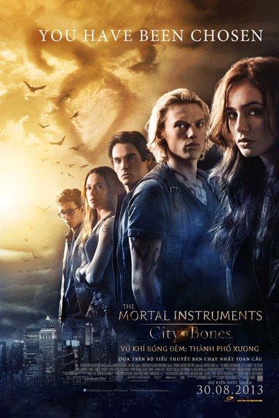Vũ Khí Bóng Đêm: Thành Phố Xương - The Mortal Instruments: City of Bones 2013