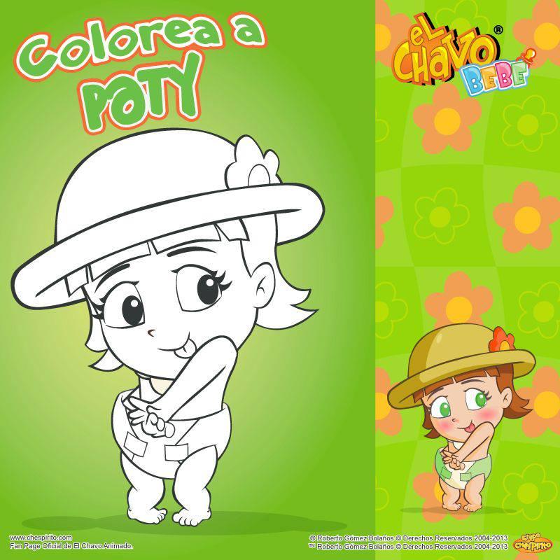 Del Chavo Animado Para Colorear Imagenes Del Chavo Animado
