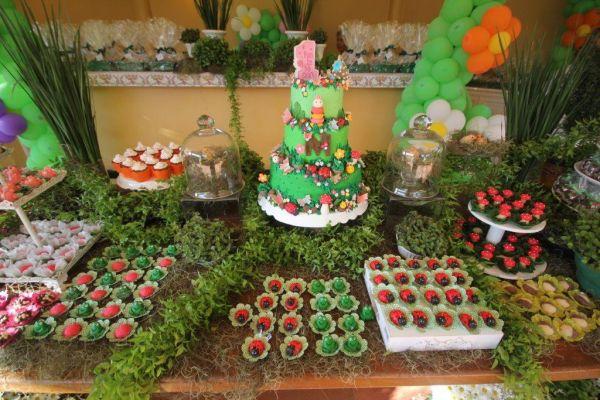 decoracao de aniversario tema jardim encantado:Cotidiano Materno: Tema de Aniversário Jardim Encantado