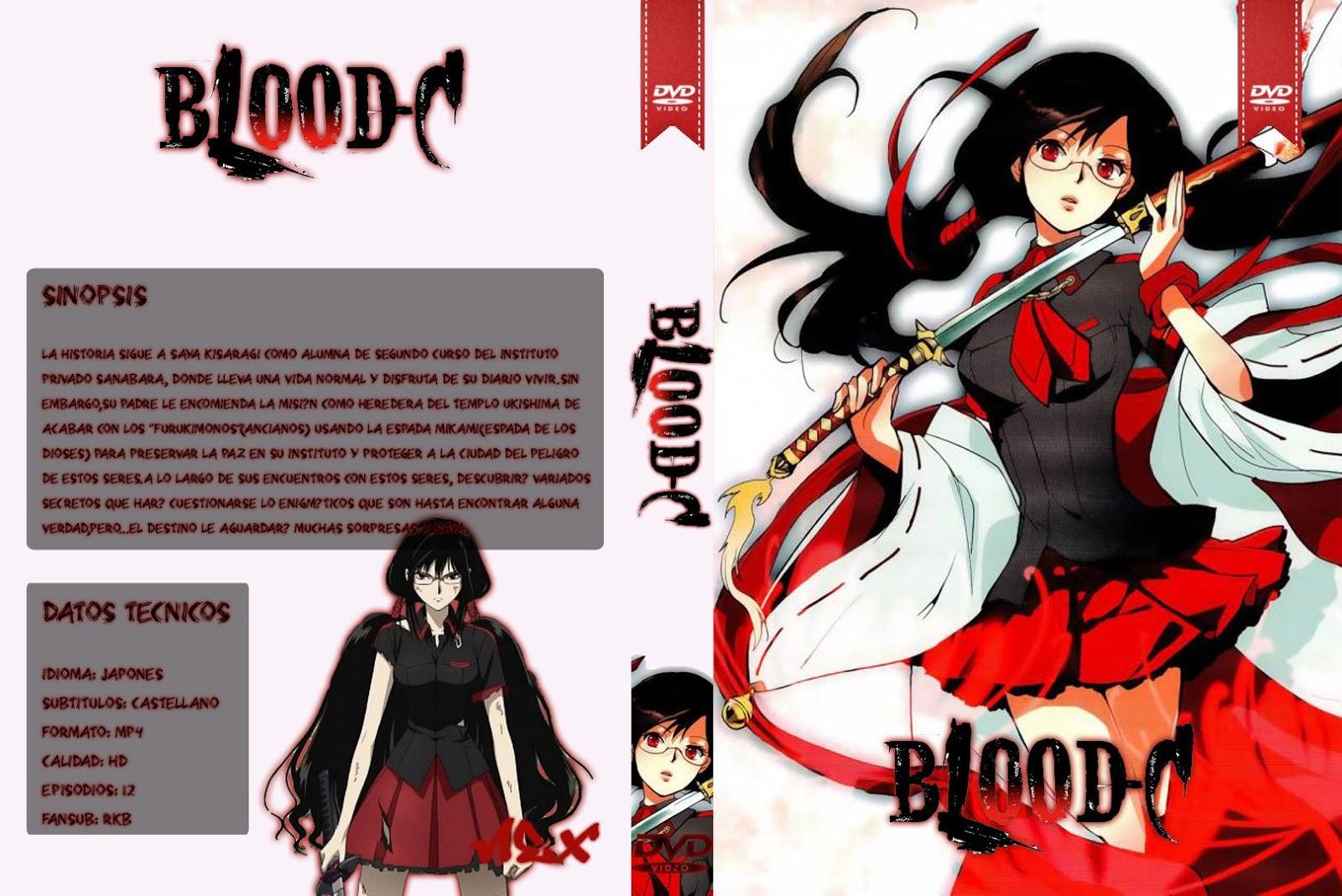 Capa DVD Blood C