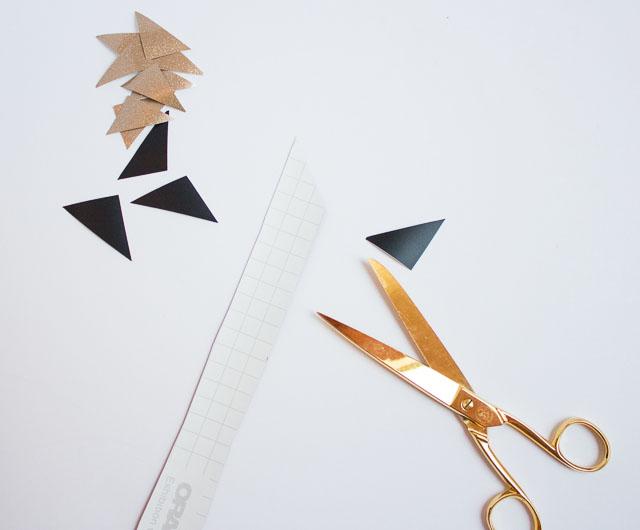 vinyl triangles