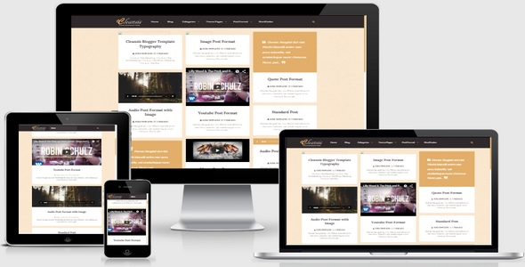 Cleansis Responsive Blogger Template Free Download