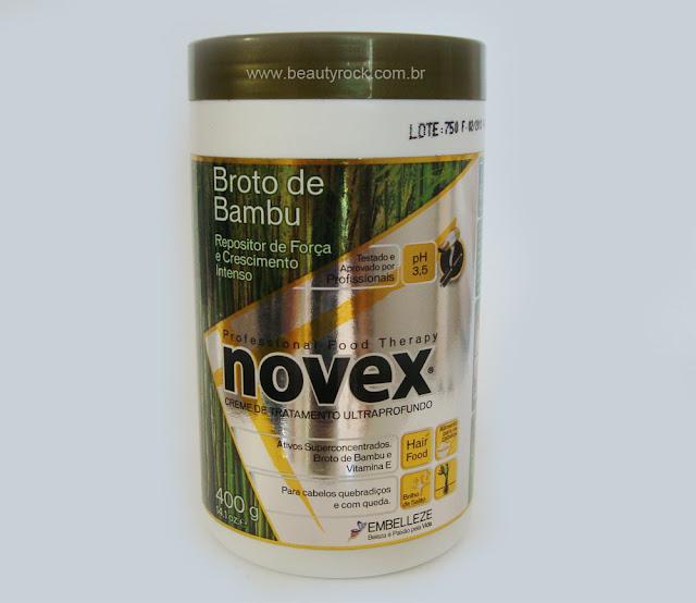 Creme de Tratamento Novex Broto de Bambu
