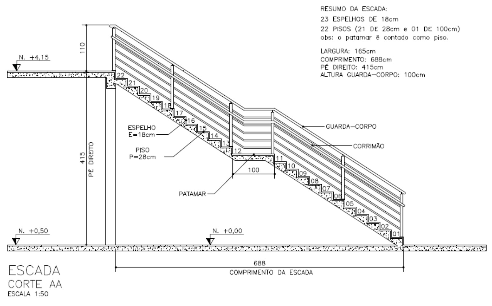 PEDREIRÃO Macetes de construção: Cálculo de Escadas Passo a  #3B3B3B 1600x995