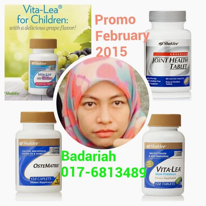 Promo Feb 15 ::: Vitalea, Ostematrix, Advance Joint & Vitalea for Children