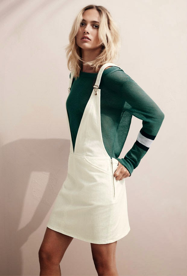 H&M Studio Spring/Summer 2015 Lookbook featuring Karmen Pedaru
