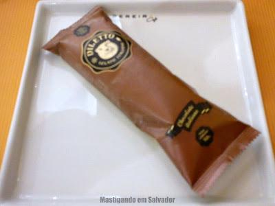 Pereira Café: Picolé Diletto sabor Chocolate Italiano
