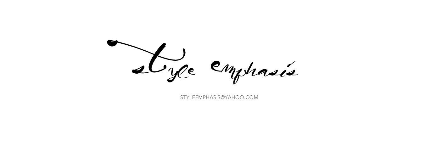 STYLE EMPHASIS