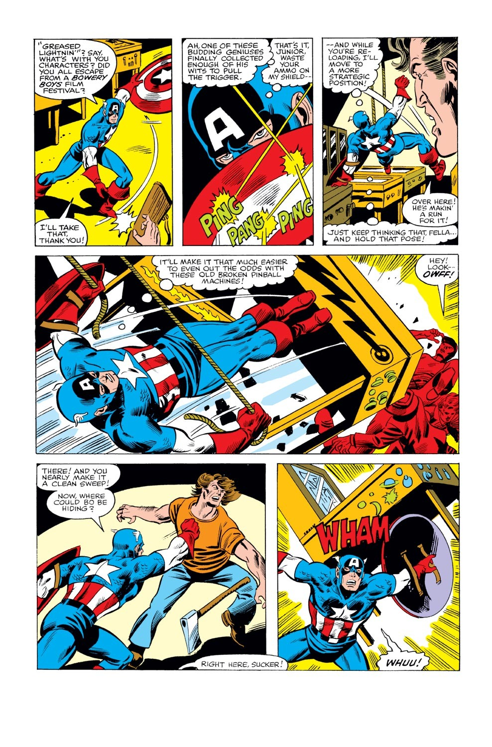 Captain America (1968) Issue #240 #155 - English 10