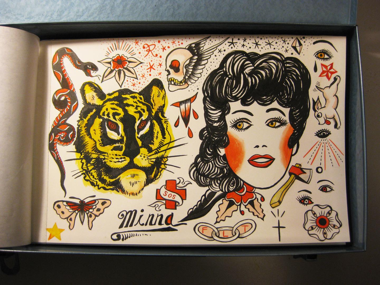 Lucks vanjeet is the loch nest monster january 2012 for Tattoo ole copenhagen