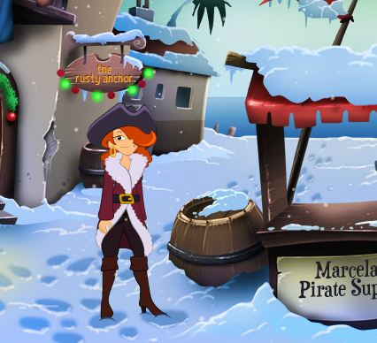 Cap'n Marcela's Winter Wo…